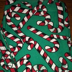 LuLaRoe Pants - Lularoe Christmas leggings